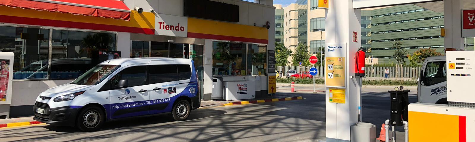 Sectores de negocio Telsystem: Gasolineras
