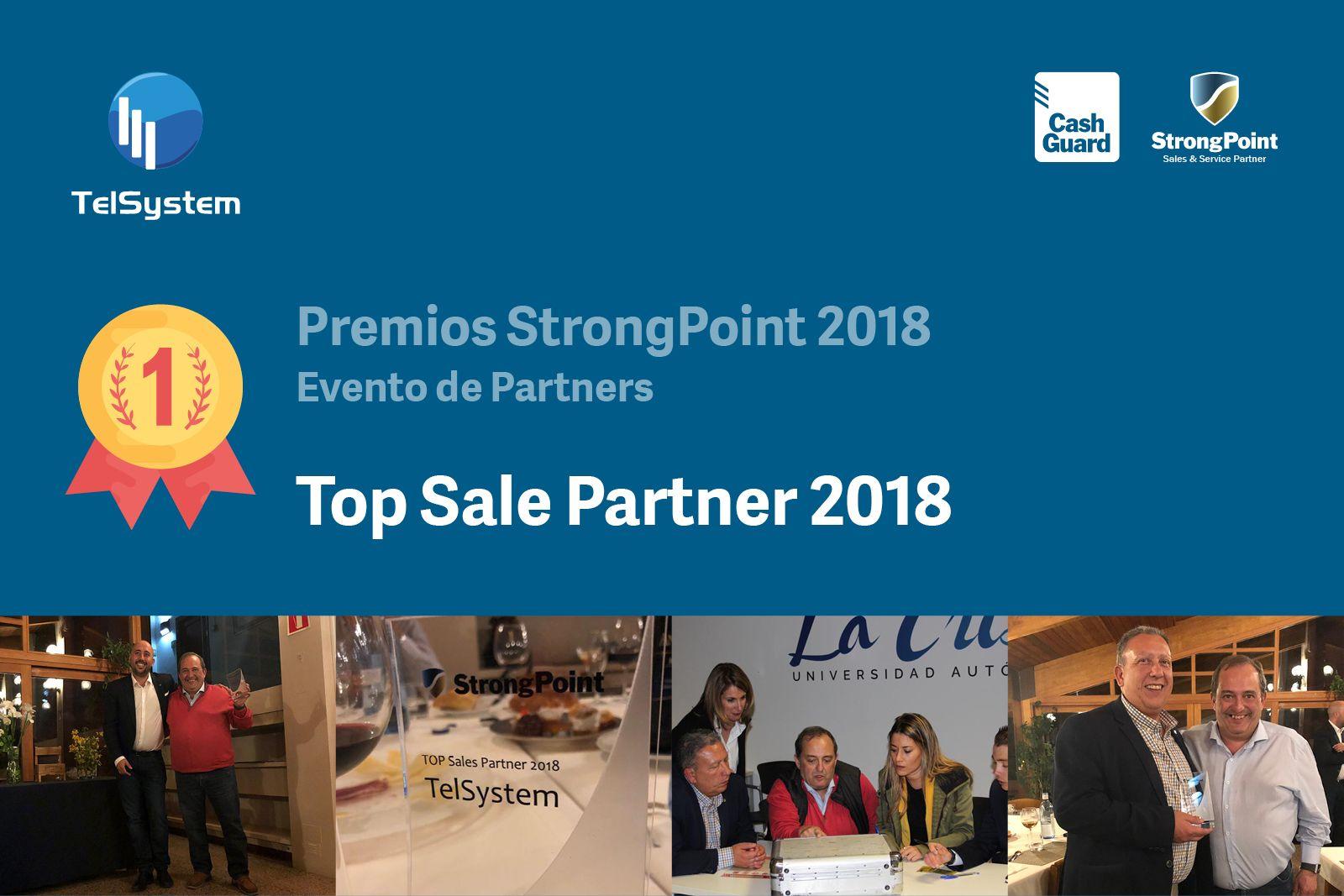 Top Sales Partner StrongPoint Iberia